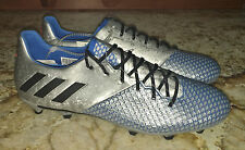 NEW Mens 9 9.5 10.5 11 12 ADIDAS Messi 15.2 FG Soccer Cleats Metallic Silve