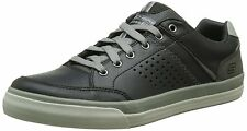 Skechers DIAMONDBACK RENDOL Men's Black Laced Comfort Oxfords Shoes