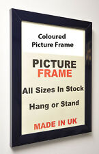 Navy Blue Picture photo Frame 30mm wide,All Sizes|Picture Frames| Frames