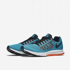 NIB Nike Air Zoon Pegasu 32 Mens Running Shoe Blue/Orange/Black 74930 400