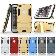 CASSIEY Shockproof Armor Kickstand Back Case Cover for Apple iPhone 7 Plus 5.5