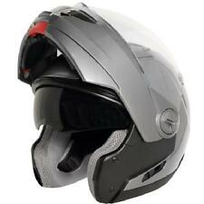 Hawk ST-1198 Transition Gun Metal Modular Full Face Motorcycle Helmet