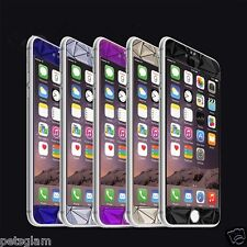 Front +Back 3D Diamond Colorful Tempered Glass Screen Protector IPHONE 6/6s 4.7""