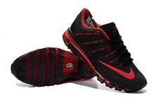 new nike air max+2016 kpu men's running shoes black&red colors and many siz
