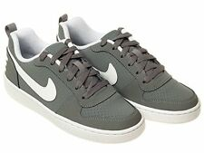New Boys Nike Trainers  Court Borough Low Shoe Junior Size UK 3 to 5.5 Leather