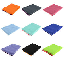 Sports Non-Slip Yoga Towel Mat Fitness Exercise Gym Yoga Blanket Workout Large