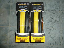 Coppia copertoncini Continental Grand Prix 3000 new  700X23 Yellow campagnolo