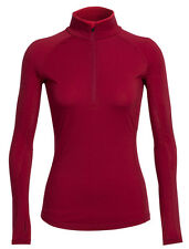 ICEBREAKER - Womans Zone Long Sleeve Half Zip - 200g/m²