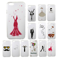 Clear Ultra Thin Fashion TPU Soft GEL Cellphone Case For iPhone 6s Plus