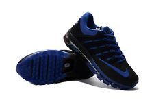 new nike air max+2016 kpu men's running shoes Blue&Black colors