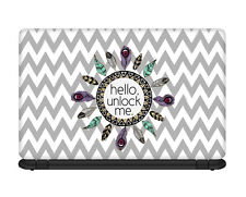 Ownclique Hello Unlock Me Laptop Skin for 14.1 inches laptop -OC4R2LS74