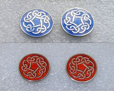QUALITY SCOTTISH CELTIC KNOT CUFFLINKS. (NEW & BOXED)