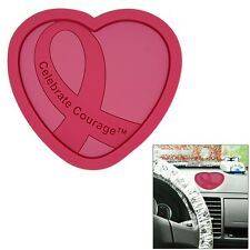 Celebrate Courage Breast Cancer Awareness Dashboard Accessory Caddy - Hope Lives