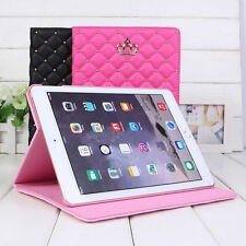 Wireless Bluetooth Keyboard w/ Stand Case Cover Screen Protector for iPad air 2