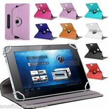 """8 """" Inch Universal 360 Degree Book Flip Case Cover for Tablet Phablet Tab Phone"""