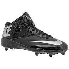 New NIKE Lunar Code Pro 3/4 D Wide Mens Football Cleats Detachable Studs Bl