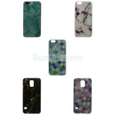 Vintage Marble Pattern Back Cover Case Guard for iPhone 6 6s Samsung S 5/6/7