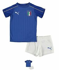 SPORTIVO Puma Italy Home Mini Kit Neonato Power Blue