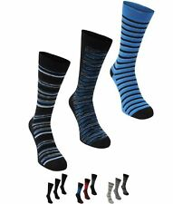 GINNASTICA Firetrap Dress Sock Gift Set Mens Grey Stripe