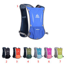 Running Lightweight Hydration Backpack Hiking Cycling Sport Breathable Water Bag