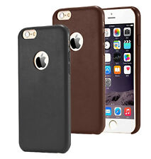 Luxury PU leather Premium Slim Fit Soft Back Case Cover For Apple iPhone 7 4.7''