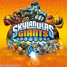 Skylanders Giants Triple FIGURAS DE PERSONAJES Y BATTLE PACKS - BNIP