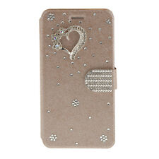 3D Love Bling Diamond Wallet Magnetic Leather Case Cover for iPhone 5s 6 6S Plus