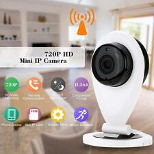 Sorveglianza Intelligente Wireless TVCC IP Audio Videocamera Webcam HD 720P WiFi