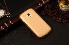 mStick Cube Series Soft Silicone Back Cover For Samsung Galaxy S Duos (S 7562)