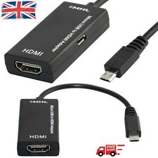 MHL Micro USB to HDMI HDTV Adapter for Samsung S2/S3/Note2 with 3M HDMI Cable