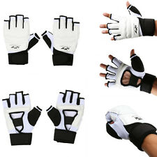 Kids Adult Half Finger Boxing Muay Thai Gym Gloves Padded Hand Protector
