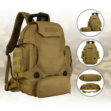 3-Way   Assault Pack Military 40L Tactical Backpack Rucksack Army Bag
