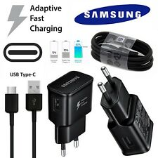 Original Samsung Galaxy 2Amp EU Fast Mains Charger EP-TA20EWE & Data Cable Black