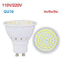GU10 Led Spotlight 3528 SMD Cool/Warm/White Led Bulb 4/6/8W Light Bulb 220V110V