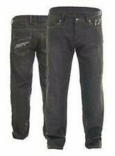 RST 2205 Mens Aramid Wax II Denim Motorcycle Trousers Jeans Black  Ce Armour