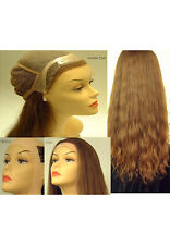 "18"" Lace Front Full Cap Wigs - French Refine Human Hair Pieces"