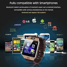 DZ09 Smart Watch For Android IOS Bluetooth, Camera, SIM Card, Memory Slot
