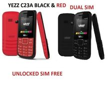 BRAND NEW YEZZ C23A RED DUAL SIM CAMERA BLUETOOTH FM RADIO AUDIO VIDEO PLAYER
