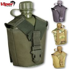 VIPER TACTICAL MODULAR WATER BOTTLE POUCH HIKING MOLLE AIRSOFT CAMPING CANTEEN