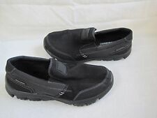 New Mens Skechers L-Fit-Peace KeeperSlip On Casual  Shoes Style 51394 Black