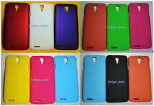 Premium Rubberized Back Hard Cover,Pouch for Micromax A77 Canvas Juice