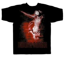 DIMMU BORGIR 'MISANTHROPIA' DOUBLE SIDED ROCK T SHIRT- XL, OFFICIAL BAND MERCH