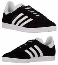 ADIDAS ORIGINALS GAZELLE MEN's SPORT PACK CASUAL BLACK - WHITE - OLD GOLD N