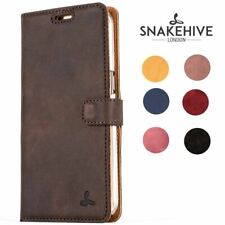 Snakehive® Apple iPhone 7 Plus Vintage Leather Wallet Phone Case w/Card Slots