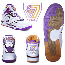 NEW AUTHENTIC MEN'S FILA KEVIN JOHNSON KJ7 RETRO PHOENIX SUNS WHITE PURPLE