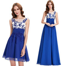 Chiffon Bridesmaid Formal Evening Gown Party Ball Wedding Prom Bandage Dress New