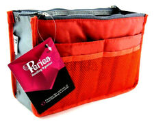 Periea Handbag Organiser, 12 Compartments - Chelsy (orange Coral)