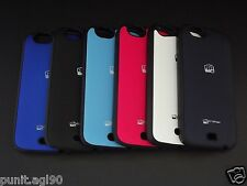 Dual Tone Soft Side Rubber Hard Back Cover Case For Micromax Canvas Turbo A250