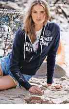 Womens Abercrombie and Fitch Applique Logo Graphic Hoodie sweatshirt  rrp £60