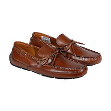 Clarks Ashmont Edge Mens Brown Leather Casual Dress Slip On Loafers Shoes